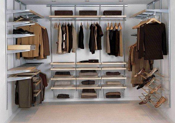 Правильная организация порядка – гардеробные системы
