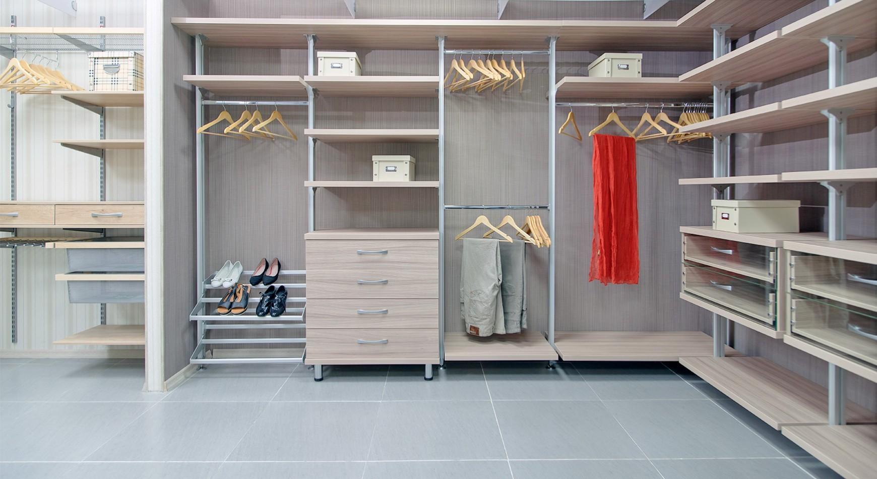 VITRA – современная гардеробная система